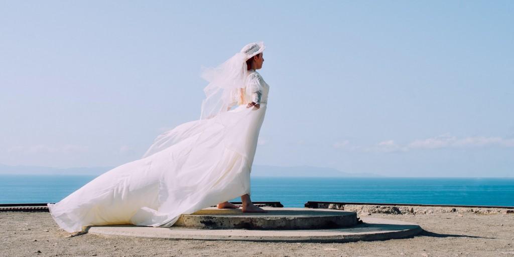 fotografia ślubna nad wodą